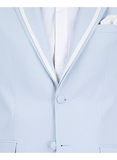 D'S Damat Takım Elbise Mavi